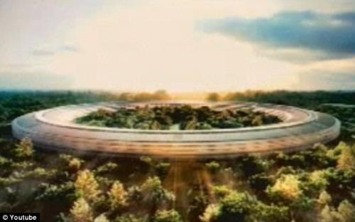 Veja detalhes da nova sede da Apple (vídeo)