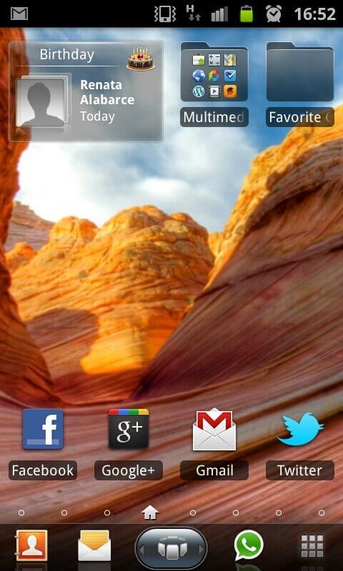 SPB Shell 3D UI 4 - Como tirar fotos da tela do Samsung Galaxy S II (screenshots)