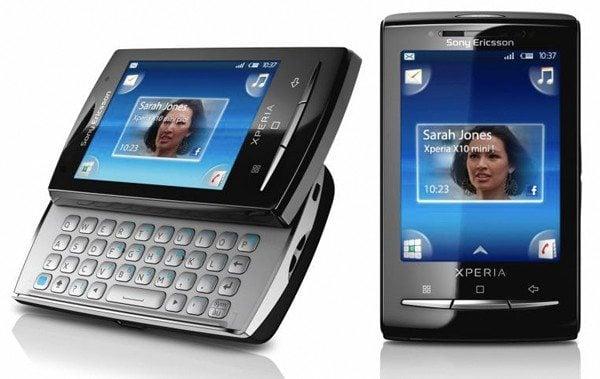 Sony Ericsson Xperia X10 Mini Pro - Lista de ROMs para o Xperia X10 Mini Pro