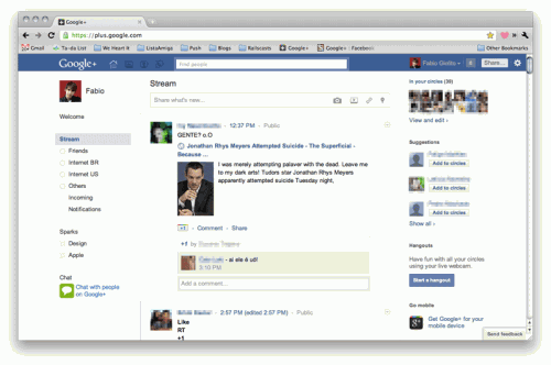 Deixe o Google+ com a cara do Facebook