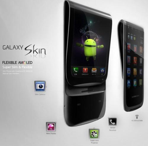Novo Galaxy Skin: smartphone com tela flexível (Android)