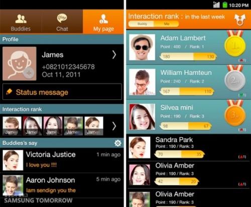 Samsung entra no serviço de mensagens instantâneas com o ChatON (Android, iOS, BlackBerry e Bada)