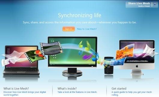 Sincronize pastas entre computadores com o Windows Live Mesh