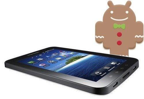 Samsung Galaxy Tab recebe atualização Android 2.3.3