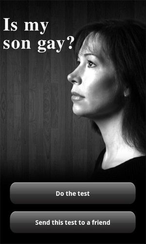 """is my son gay - Aplicativo para celular gera polêmica por """"revelar"""" se o seu filho é gay ou não"""