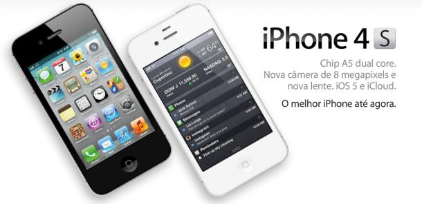 iPhone 4S começa a ser vendido no Brasil