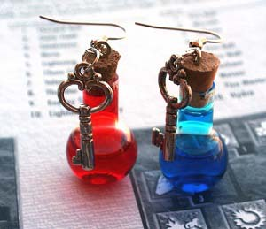 health and mana potion earrings - Thisiswhyimbroke.com: todos os desejos geeks num só site