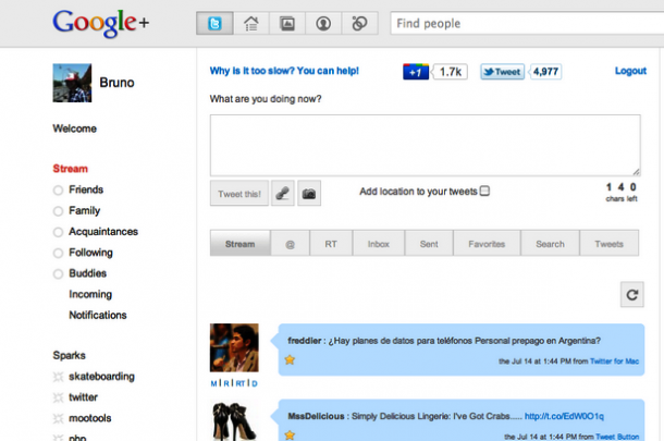 Tutorial: colocando o Twitter no seu perfil do Google+