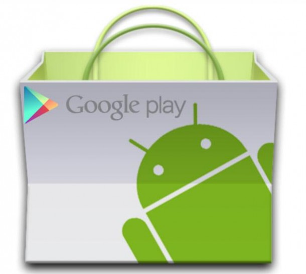 Google toys around with the Android Market changes name to Google Play 610x545 - TOP Apps Android: os melhores aplicativos para smartphones e tablets [Abril/2013]