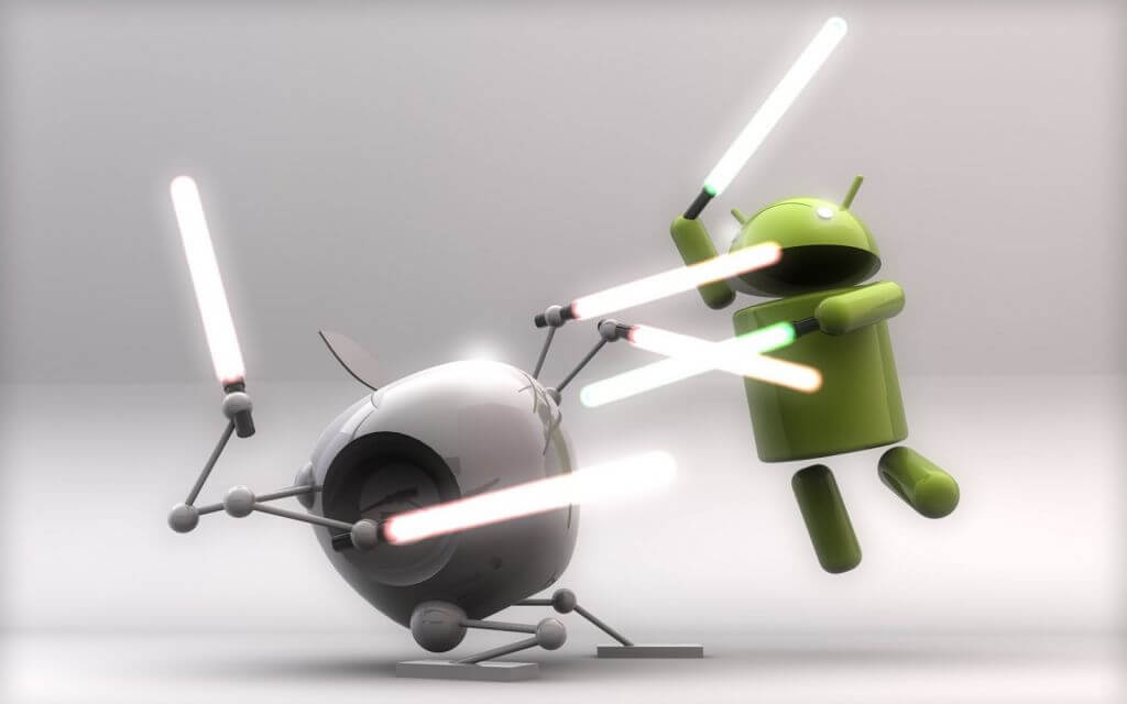 Android vs. iOS 2
