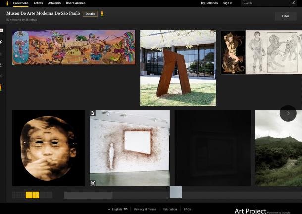 mam 1 610x434 - Google apresenta obras de museus brasileiros