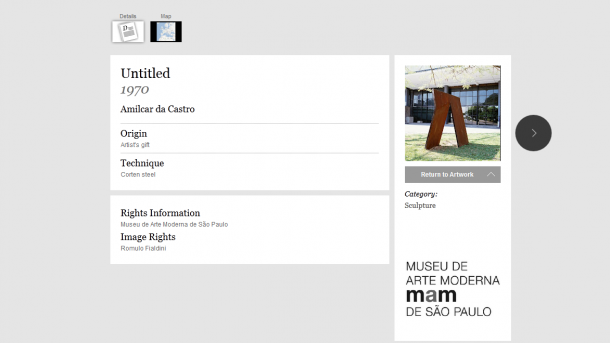 mam 2 610x343 - Google apresenta obras de museus brasileiros