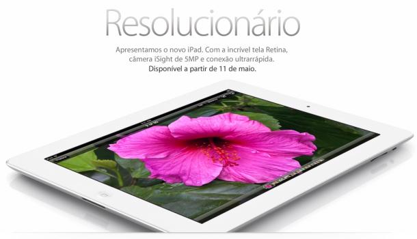 Novo iPad já aparece na loja brasileira da Apple 3
