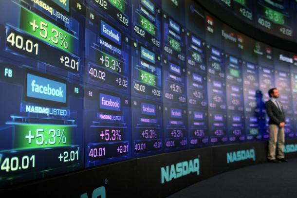 Captura de Tela 2012 05 18 às 19.36.37 610x407 - EUA: Facebook tem 2ª maior estreia em bolsa