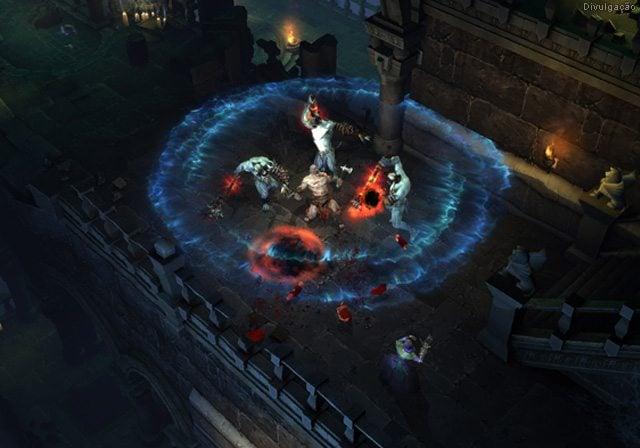 Diablo 3 - Servidores do Diablo III sofrem queda durante o primeiro dia