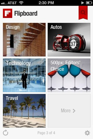 Versão beta do Flipboard é disponibilizada para Androids
