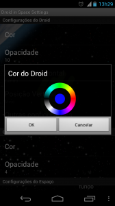 Selecionar cor 168x300 - Saiba como mudar a aparência do seu Android – Parte 3 – Papel de parede animado