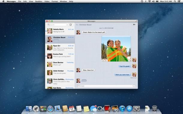 os x montain lion 610x381 - OS X Mountain Lion está disponível para download