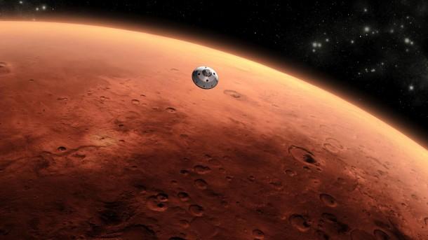 Curiosity Approaching Mars Artists Concept 610x343 - Nova sonda da NASA está chegando em Marte