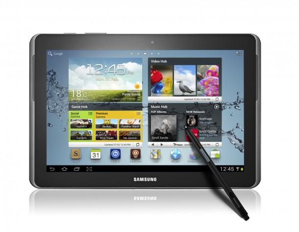 GALAXY Note 10.1 Product Image 2 610x473 - Novo Galaxy Note 10.1: será que este supera o iPad?