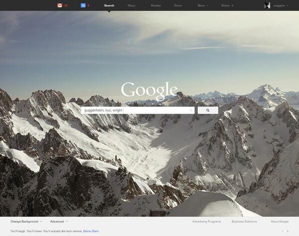 Google Redesign 3 - Google apresenta novo design dos seus produtos