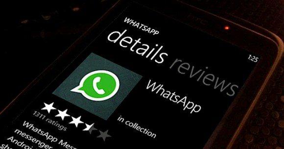 wp7whatsapp - Whatsapp volta a ser disponibilizado para Windows Phones