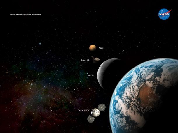 Onde será construída a próxima estação espacial da NASA?