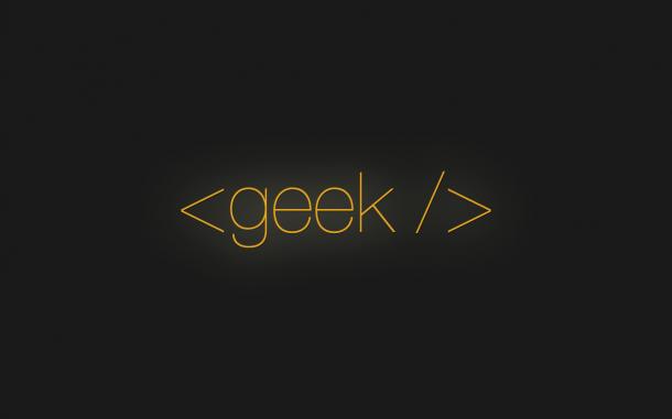 Geek by Baddie 610x381 - 10 ótimos Papéis de Parede Geeks para o seu desktop
