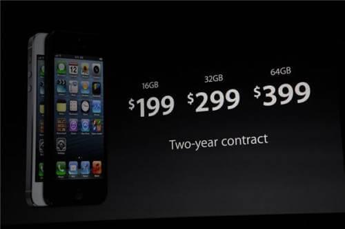 Lançamento iPhone 5 - Apple