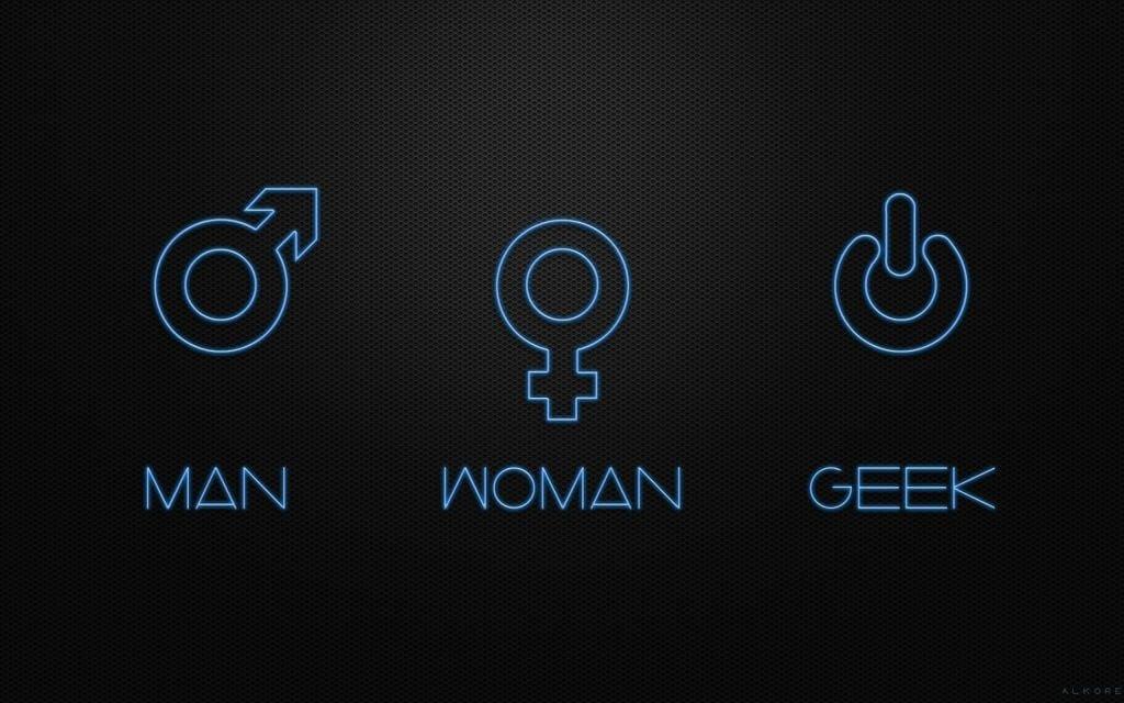 Man-Woman-Geek