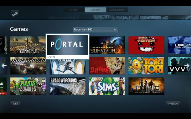 Sem título 610x381 - Steam Big Picture - Valve lança interface para TVs de alta definição