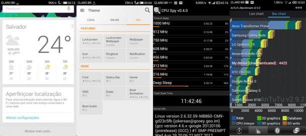Jelly bean custom para o atrix : miui v4. 1 jb por th3bill. O smartphone motorola atrix 4g mb860 br foi lançado no brasil em abril de 2011 trazendo a versão 2. 2 froyo do android e oito meses depois, em dezembro recebeu atualização para a versão 2. 3 gingerbread e desde então as atualizações estão estacionadas e nem mesmo uma certeza de ser atualizado para a versão 4. 0 ice cream sandwich é concreta, principalmente se for levado em conta o histórico da empresa neste quesito, imaginem atualizar para a versão 4. 1 jelly bean...