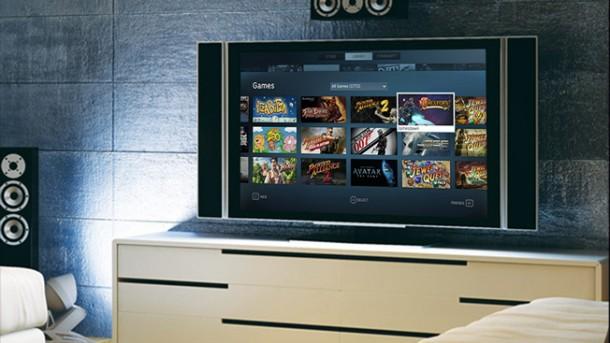 steam big picture 610x343 - Steam Big Picture - Valve lança interface para TVs de alta definição
