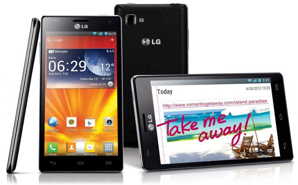 LG Optimus 4x HD grouped original - LG lança quad-core Optimus 4X HD no Brasil