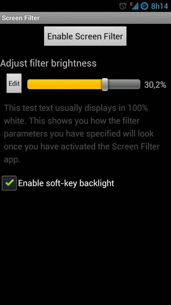 Screenshot 2012 10 24 08 14 52 562x1000 - App Review: Screen Filter - Diminua ainda mais o brilho da sua tela