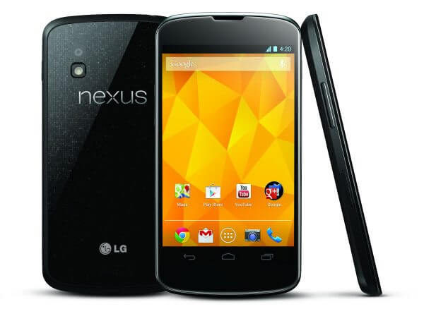 div nexus 4 - LG Nexus 4: hands-on do novo aparelho do Google