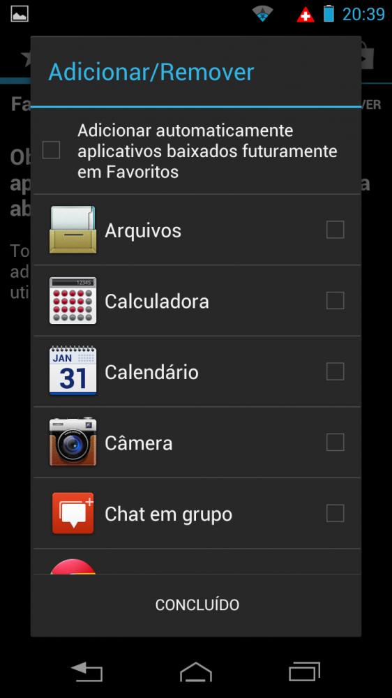 razrhd launcher08 562x1000 - Review: Razr HD - primeiro telefone 4G do Brasil