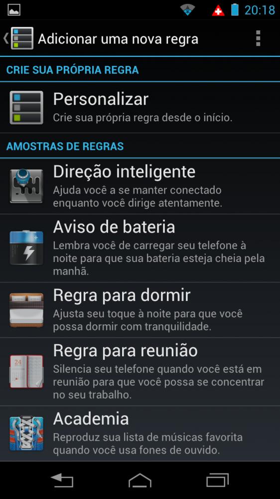 razrhd smart actions 562x1000 - Review: Razr HD - primeiro telefone 4G do Brasil