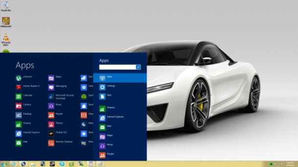 Start8 e ViStart trazem de volta o Menu Iniciar no Windows 8