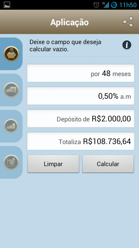 Calculadora Screenshot 02 562x1000 - Calculadora do Cidadão para Android e iOS
