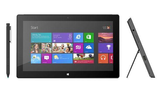 Microsoft iniciará venda do Surface Pro em Janeiro