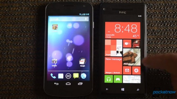 Windows Phone 8 vs. Android 4.1