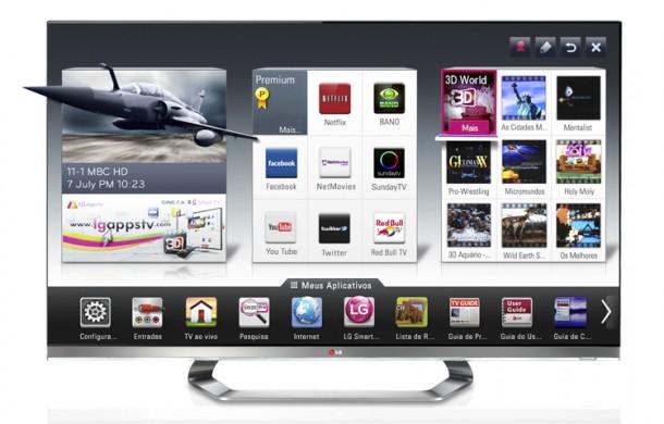 193310900a 610x390 - Review: Smart TVs LG LED Full HD Cinema 3D de 47 e 55 polegadas - DTV Dual Core 240Hz