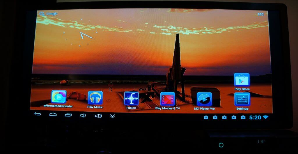 Android 4.1.1 dual core media center