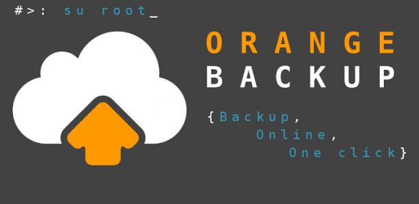 orange backup banner 610x297 - Orange Backup, mantenha o backup do seu Android seguro na nuvem
