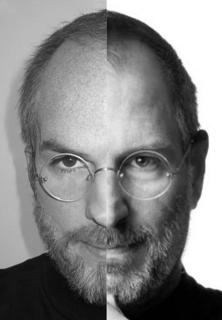 Ashton Kutcher Steve Jobs - Ashton Kutcher publica foto comparando-se a Steve Jobs