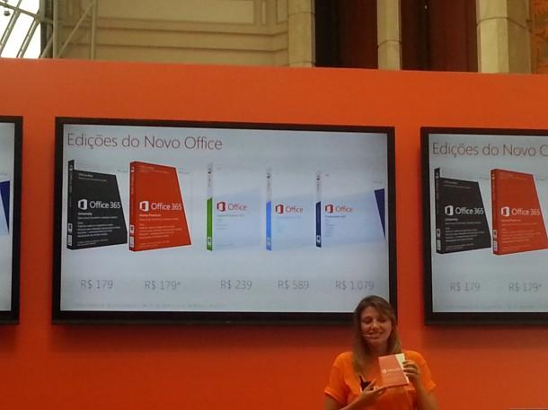 Lançamento Office365 03 precos 610x457 - Microsoft lança o Office 365 no Brasil e detalha preços e características do Office 2013