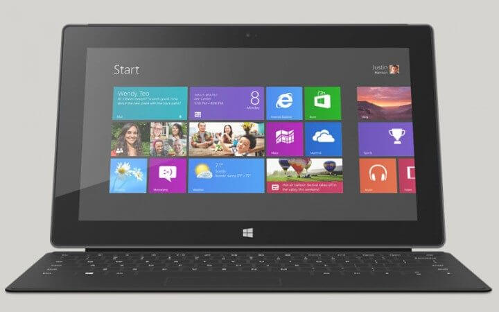 Microsoft Suface Pro com Windows 8 Pro 720x450 - Windows Blue irá se chamar Windows 8.1 e será gratuito