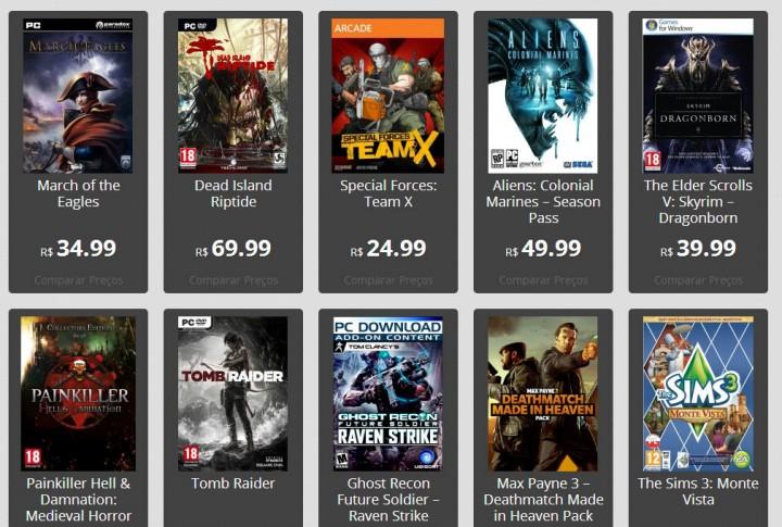 comparagames 720x485 - Site Comparagames.com oferece comparativos de preços de jogos vendidos digitalmente no Brasil