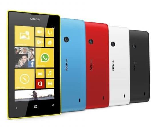 O antigo líder: Lumia 520